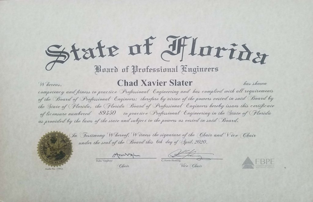 florida license