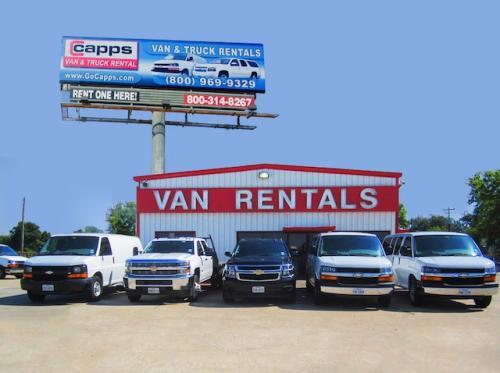 CAPPS Van   Truck Rental